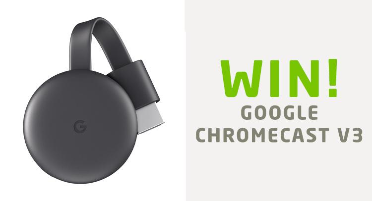 Google Chromecast Wedstrijd